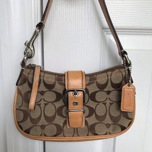 COACH Small Buckle Shoulder Bag